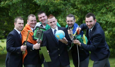 Team Ireland - World Skills Brazil