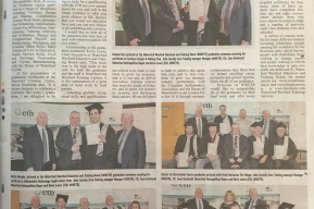 Graduation Ceremony at Waterford Wexford Education and Training Board